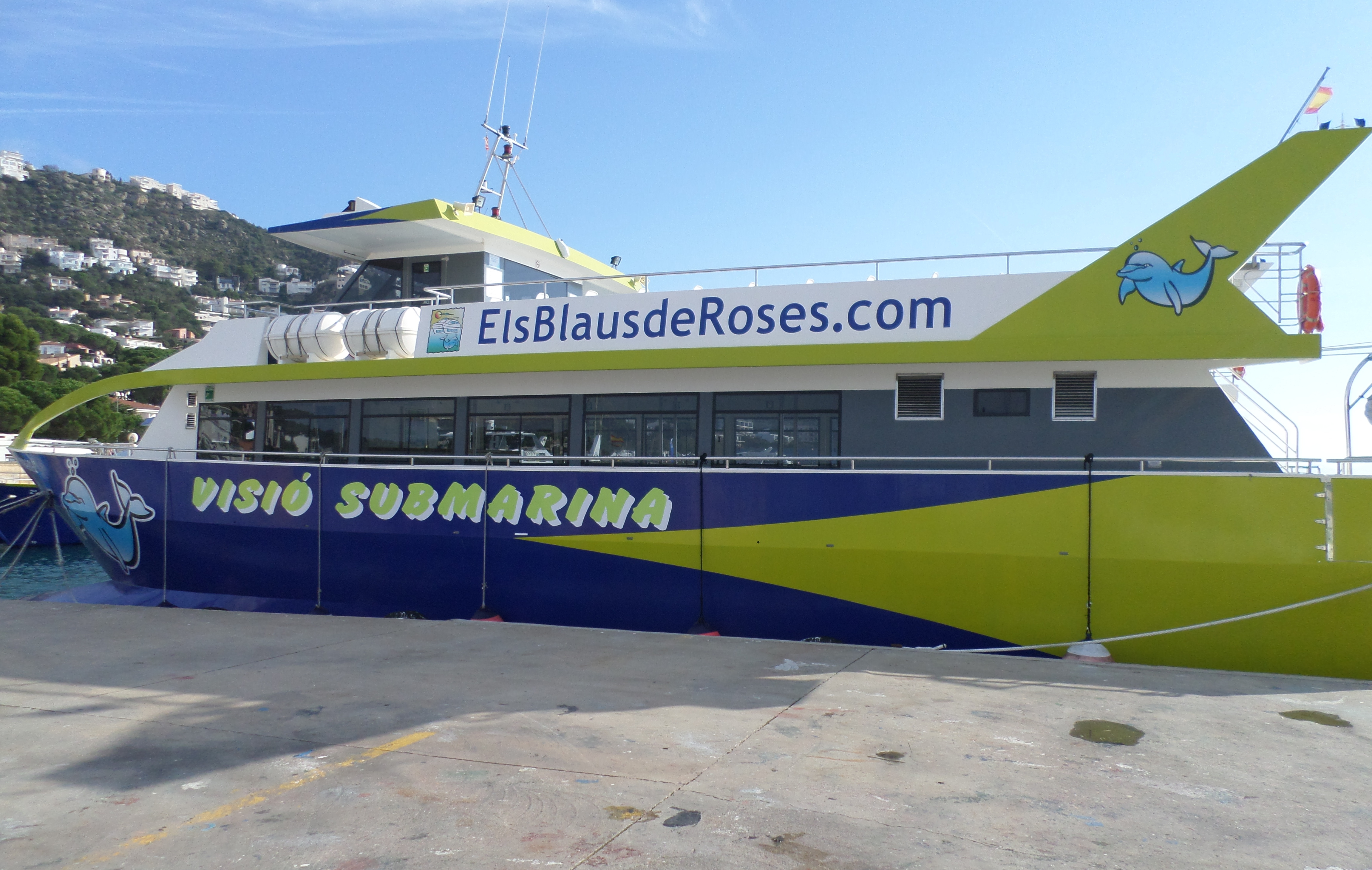 promenade bateau rosas